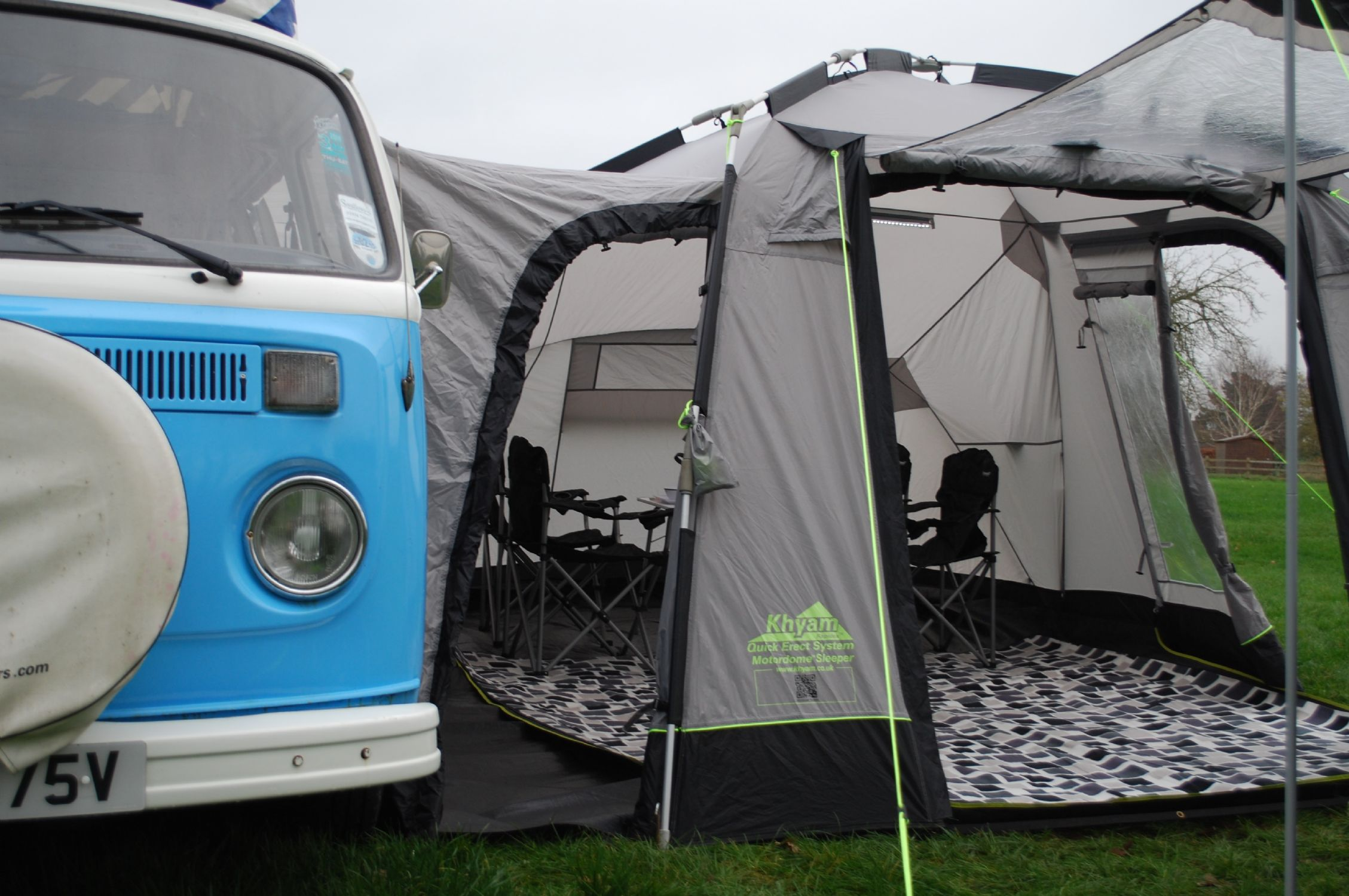 Khyam Motordome Sleeper Quick Erect Driveaway Awning Tunnel