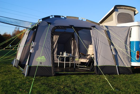 Khyam Motordome Sleeper Quick Erect Driveaway Awning 2015