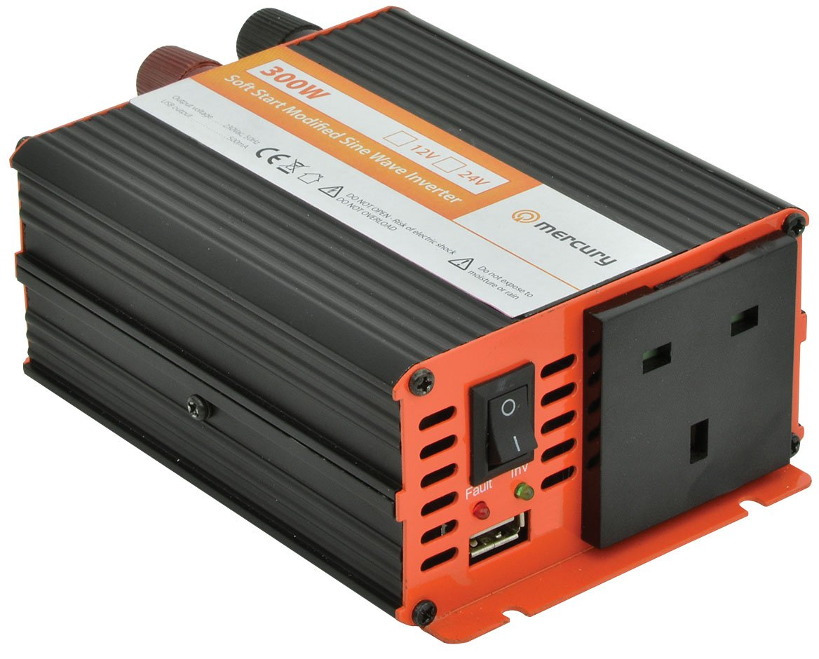 300w 12v Mercury Power Inverter