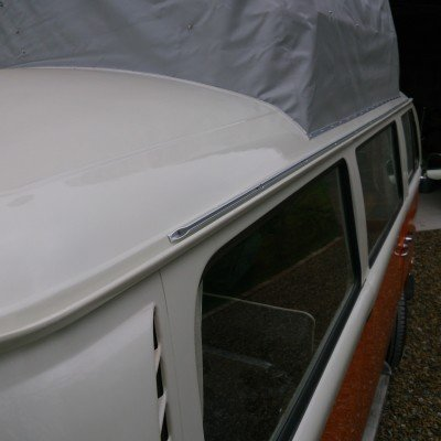 VW T2 Bay Window Awning Rail