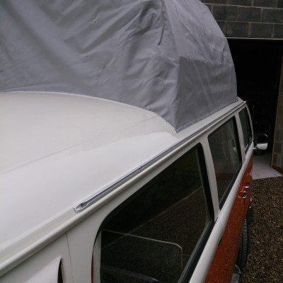 VW T2 Bay Window Awning Rail.3