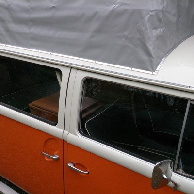 VW T2 Bay Window Awning Rail.4