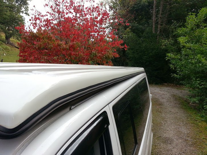 Vw T5 Bolt On Awning Rail Pop Top Roof Camper Essentials