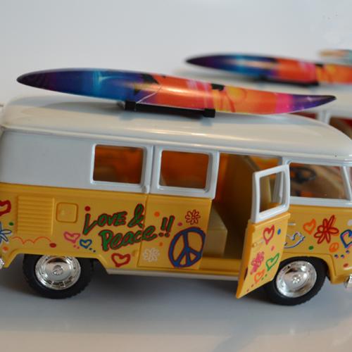 Die Cast Metal VW Splitty Camper Bus - 1:32 Scale - Camper ...