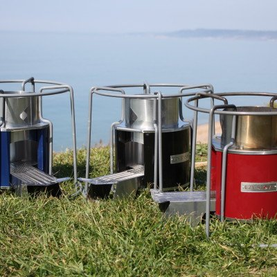 Ezy Stove Rocket Stove Wood Fuelled Camp Cooking By Wild