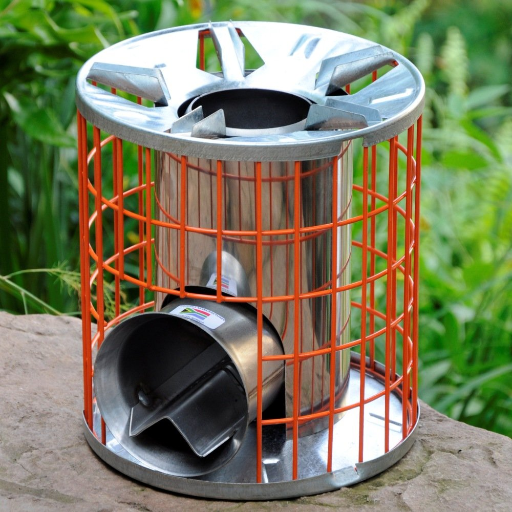 Anevay horizon multi fuel rocket stove camper essentials for Wood burning rocket stove