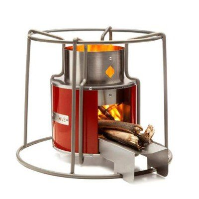 Ezy Stove Rocket Stove – Wood-fuelled camp cooking by Wild Stoves