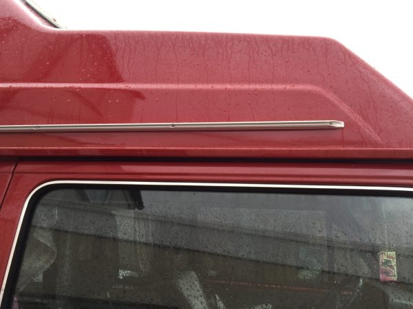 VW T25 Awning Rail on High top