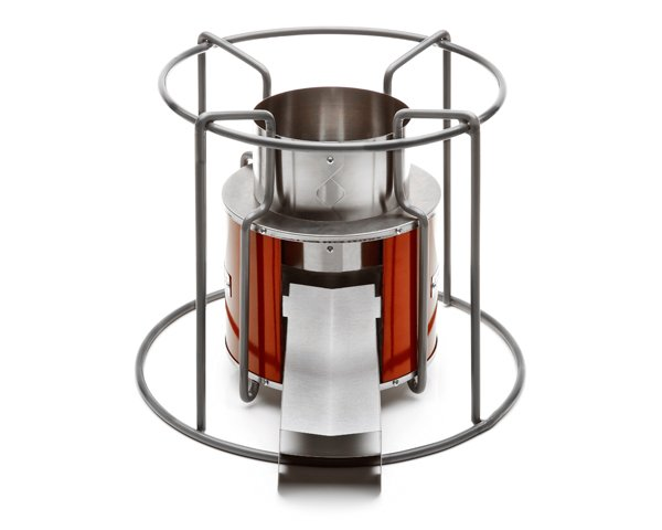Ezy Stove Rocket Stove - Wood-fuelled camp cooking