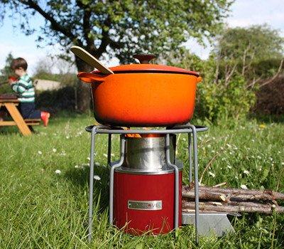 Ianto evans rocket stove pdf for Decorative rocket stove