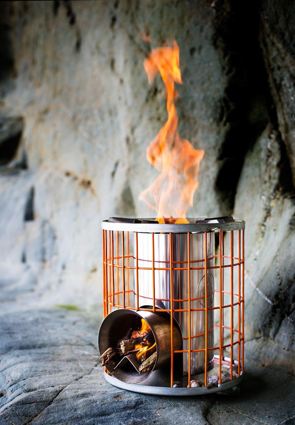 Anevay Horizon Multi Fuel Rocket Stove Camper Essentials