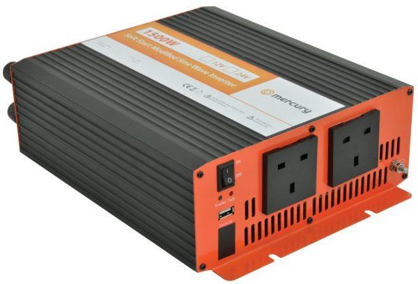 1500w 12v Mercury Power Inverter
