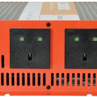 2500w 12v Mercury Power Inverter Sockets