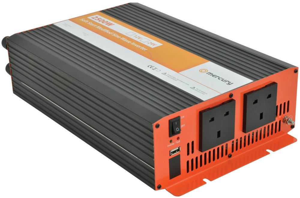 2500w 12v Mercury Power Inverter