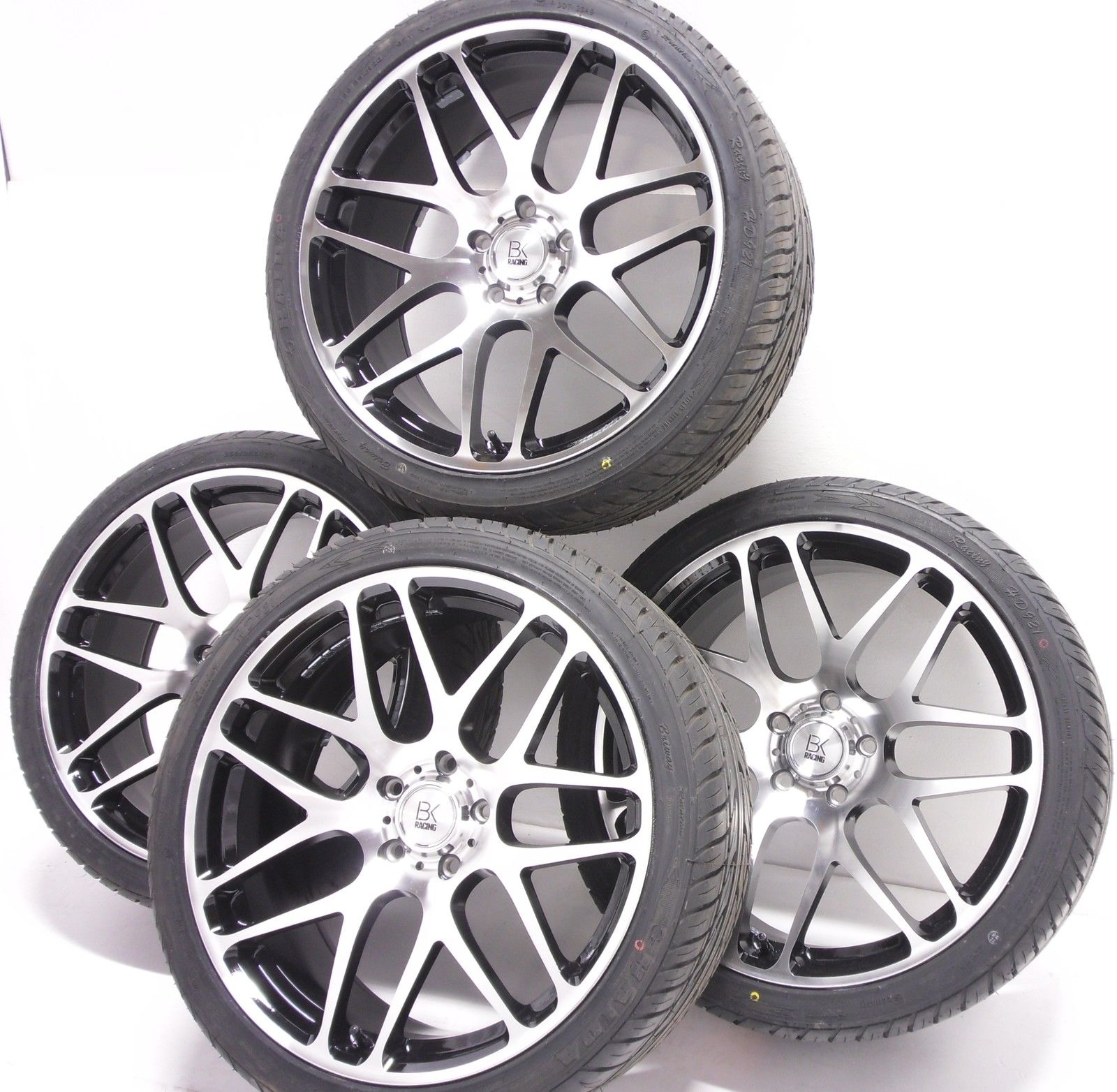 BK Racing BK170 Van Rated T5 Alloy Wheels - 20""