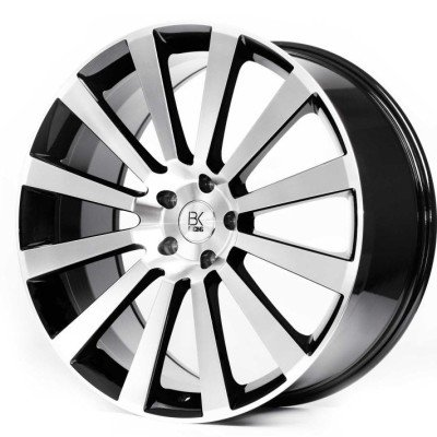 BK Racing BK660 Van Rated T5 Alloy Wheels - 20""