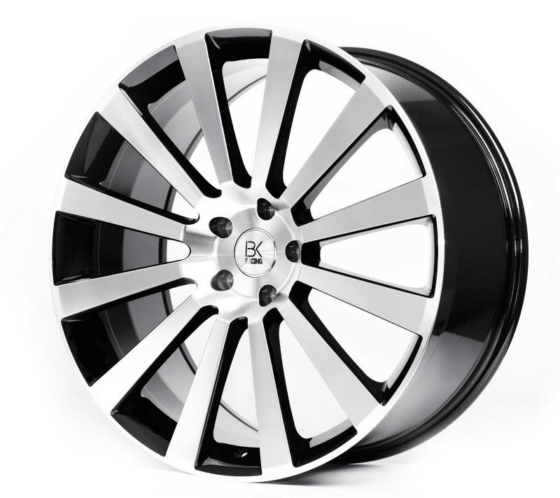 "BK Racing BK660 Van Rated T5 Alloy Wheels - 20"""