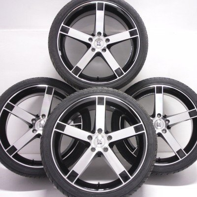 BK Racing BK677 Van Rated T5 Alloy Wheels