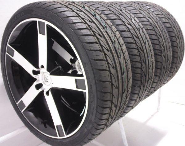 BK Racing BK677 Van Rated T5 Alloy Wheels