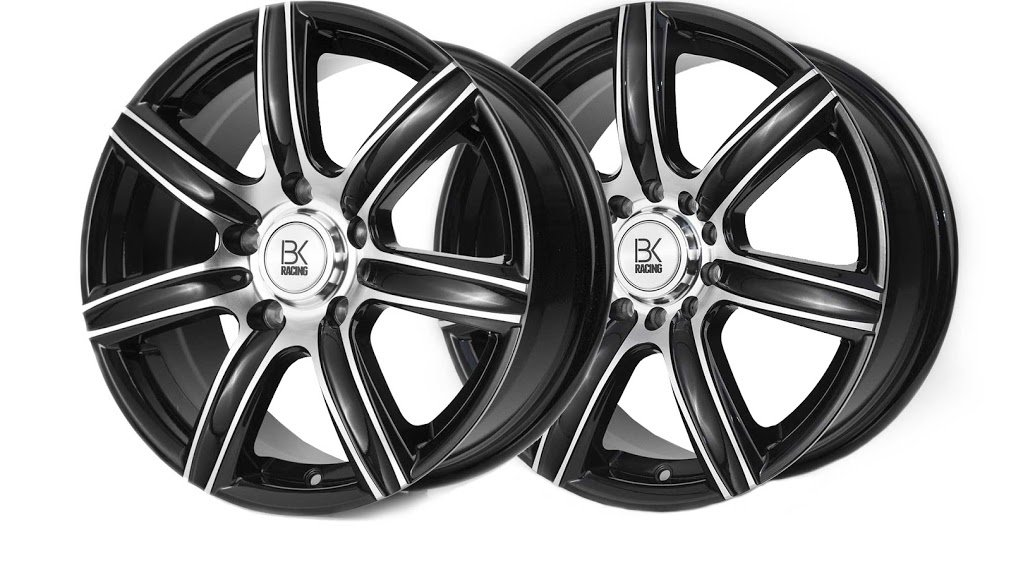 BK Racing BK808 Van Rated VW T5 Alloy Wheels - 17""