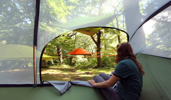 Tentsile Stingray Unique Tree Tent Camp View