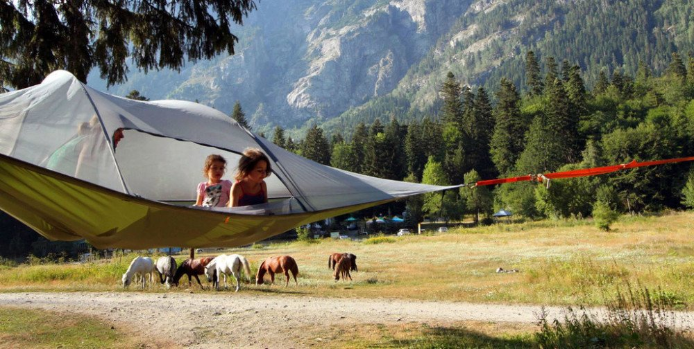 Tentsile Stingray Unique Tree Tent Family