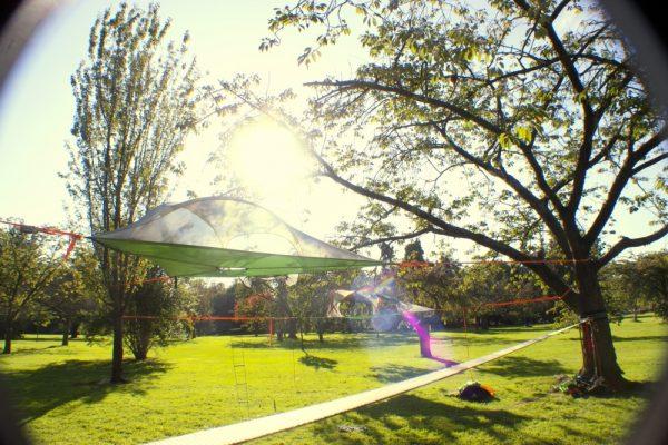 Tentsile Stingray Unique Tree Tent Garden