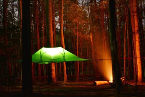 Tentsile Stingray Unique Tree Tent Night