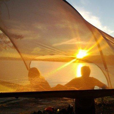 Tentsile Stingray Unique Tree Tent sunset