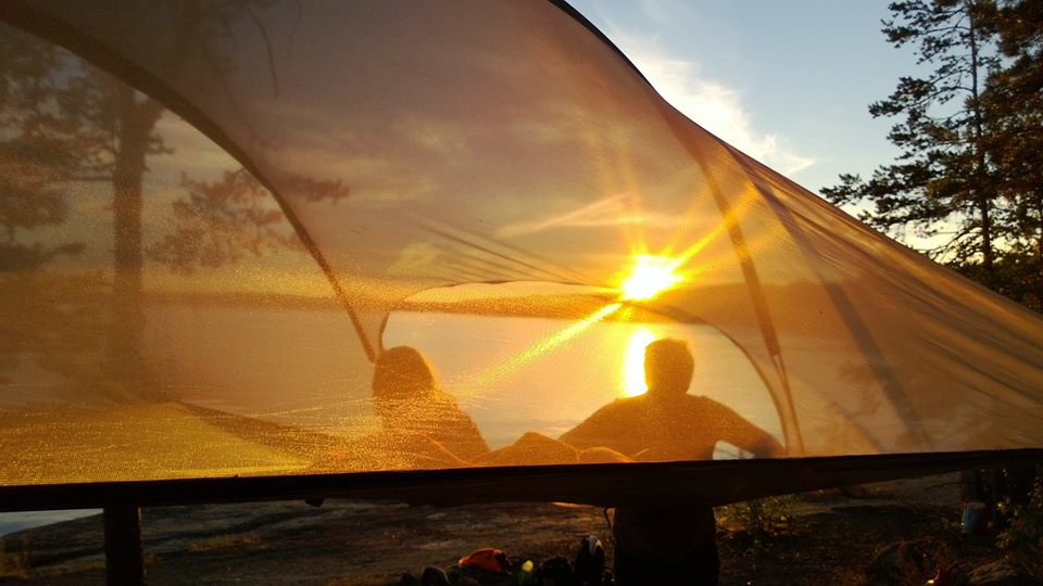 Tentsile Stingray Unique Tree Tent sunset & Tentsile Stingray Tree Tent Unique Portable Treehouse - Camper ...