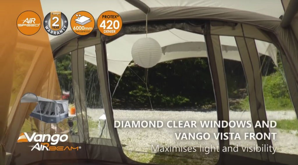 Vango Attar 380 Std Awning