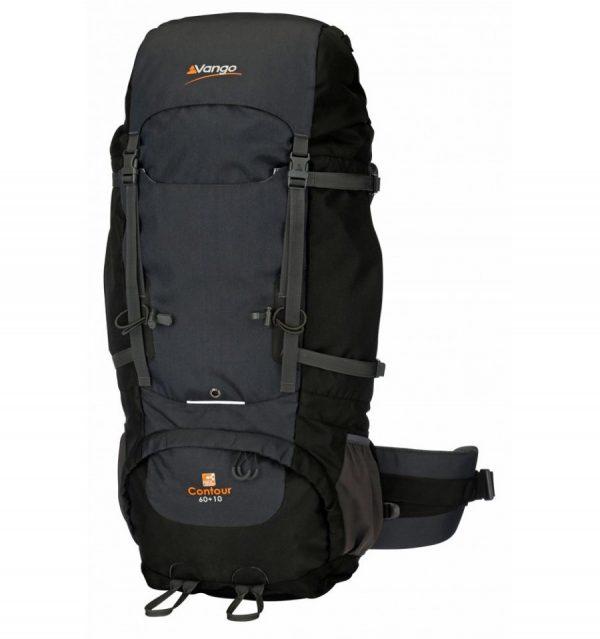 Vango-Contour-60plus10-Rucksack-Black