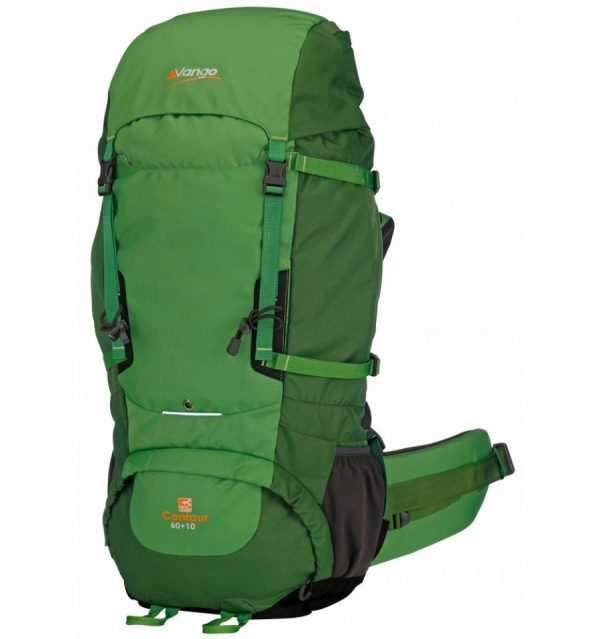 Vango-Contour-60plus10-Rucksack-Green