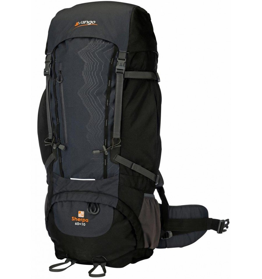 Vango-Sherpa-60plus10-Rucksack-Black