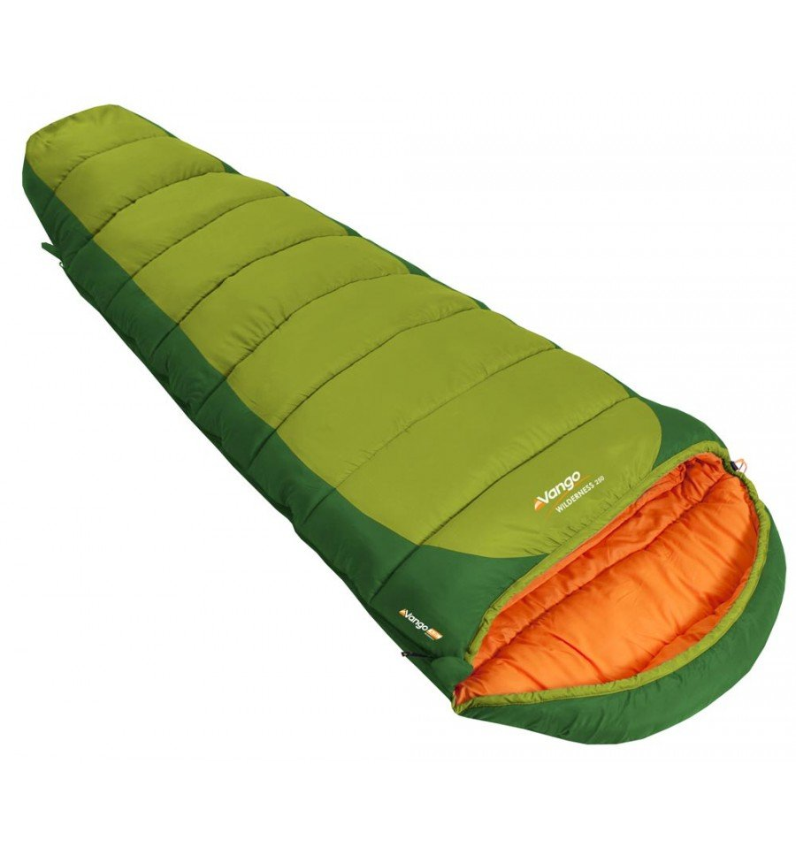 Vango-Wilderness-250-Sleeping-Bag-Green