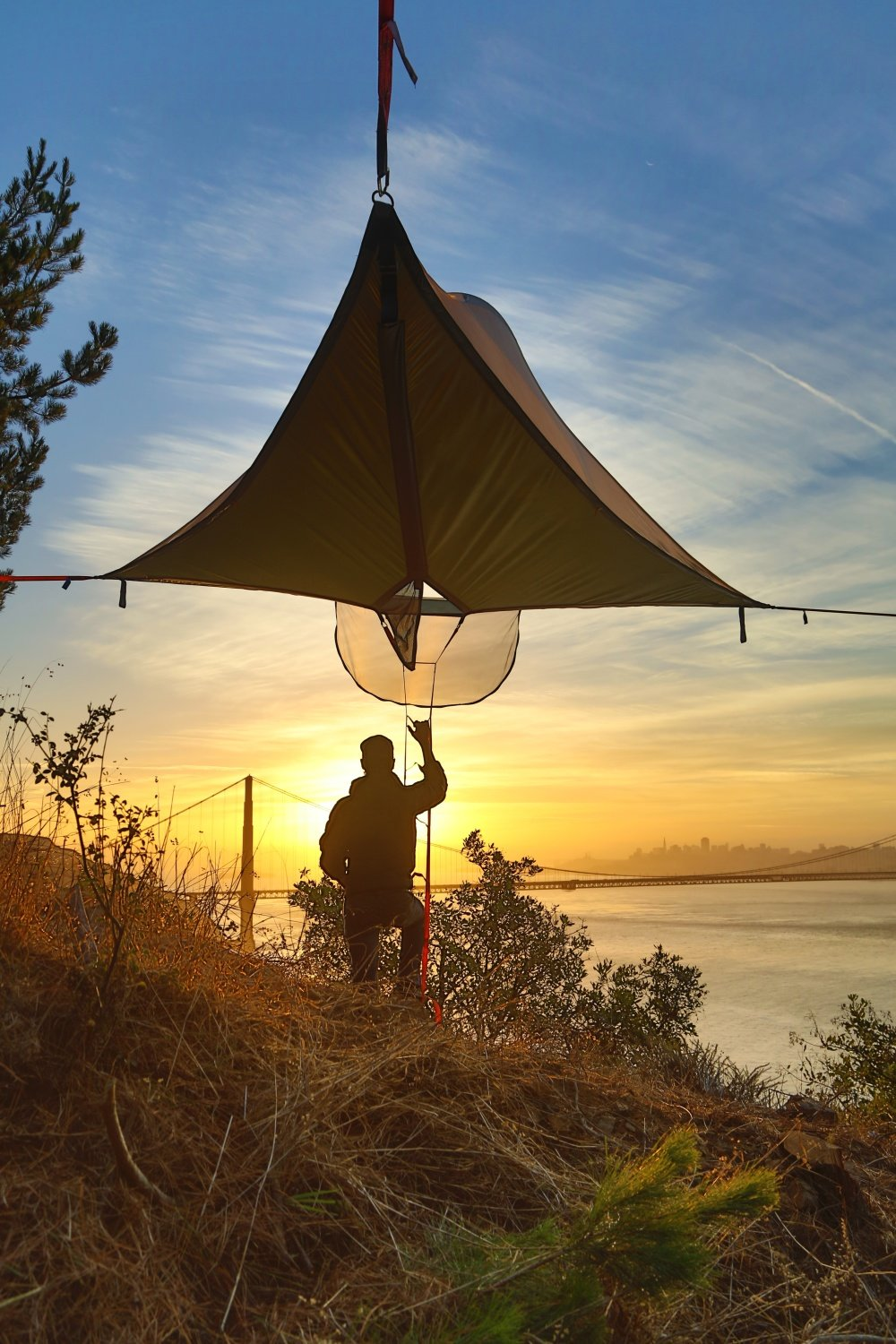 Tentsile Stingray Tree Tent Unique Portable Treehouse