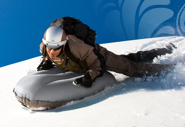 Airboard Freeride 180X Inflatable Sledge Silver