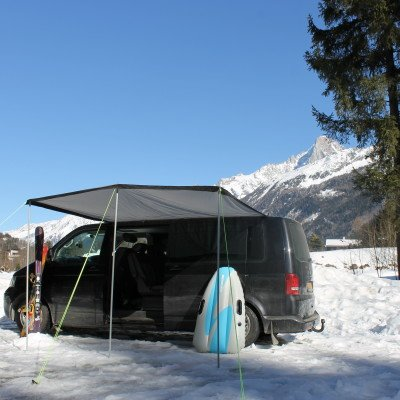 Vw T5 Bolt On Awning Rail Roof Rail Spacer System Option 1