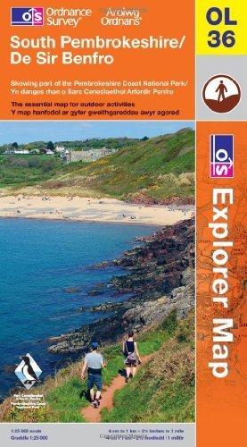 South Pembrokeshire (OS Explorer Map)