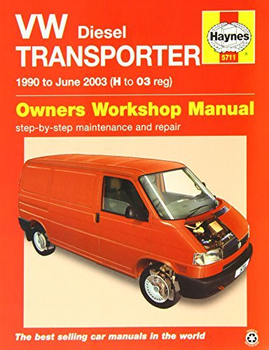 VW Transporter Diesel (T4) Service and Repair Manual: 1990 - 2003 (Haynes Service and Repair Manuals)