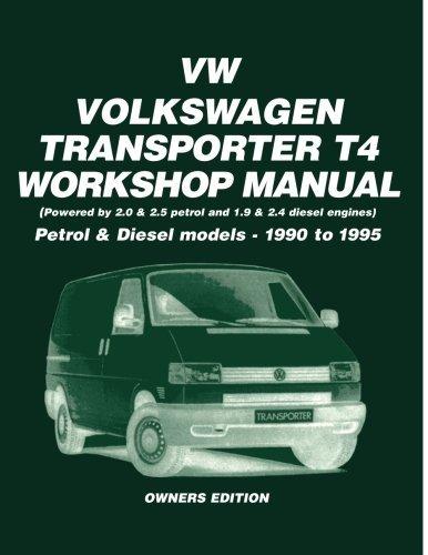 vw transporter t4  petrol and diesel 1990 1995  workshop Volkswagen Transporter Interior Volkswagen Transporter Inside