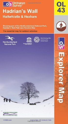 Hadrian's Wall (OS Explorer Map)