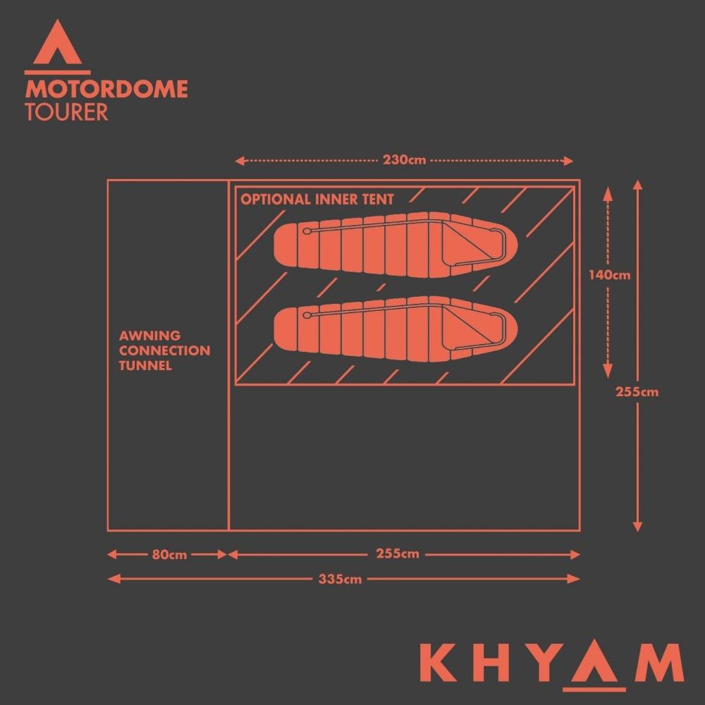 Khyam Motordome Tourer Driveaway Awning
