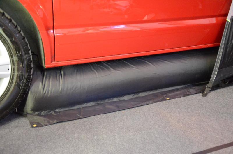 Khyam VW Camper Baffle Inflatable Draught Skirt