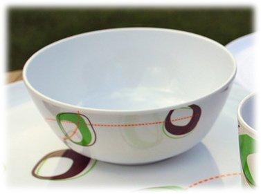 4 Melamine Bowls