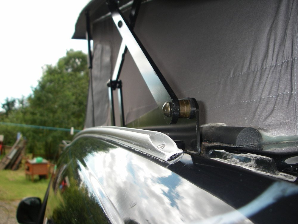 MERCEDES VITO POP TOP AWNING RAIL