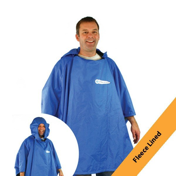 Fleece Lined Festival Poncho 4in1