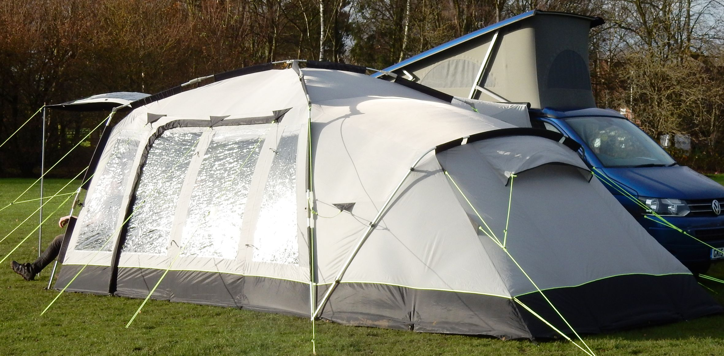 Khyam Motordome Sleeper 380 Quick Erect Driveaway Awning ...