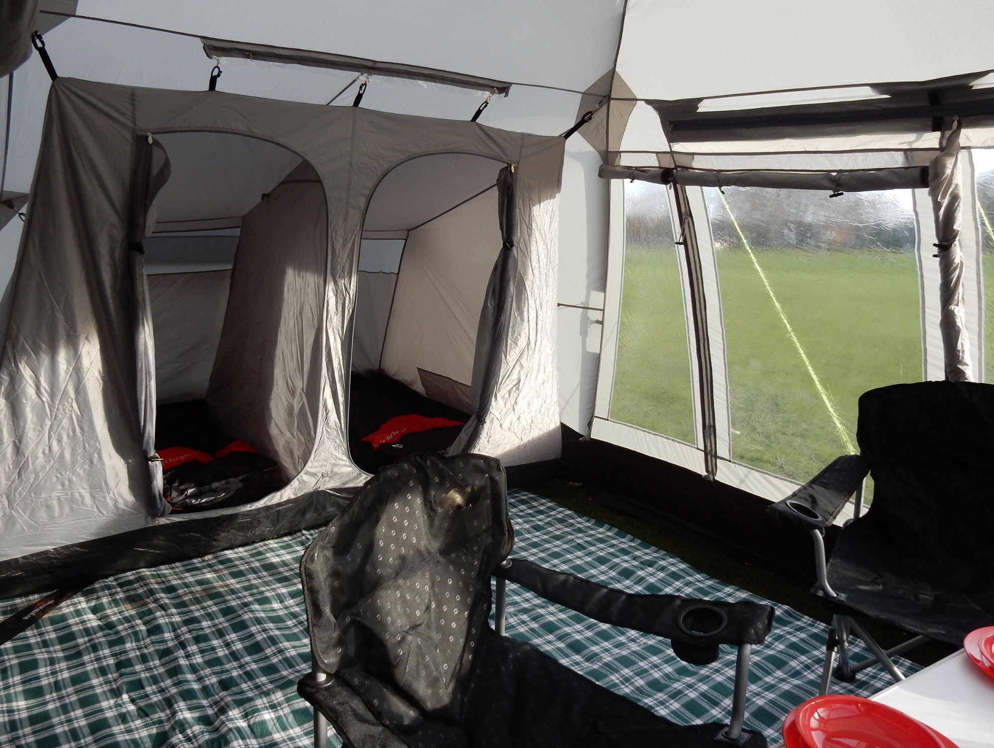 Khyam Motordome Sleeper 380 Quick Erect Driveaway Awning
