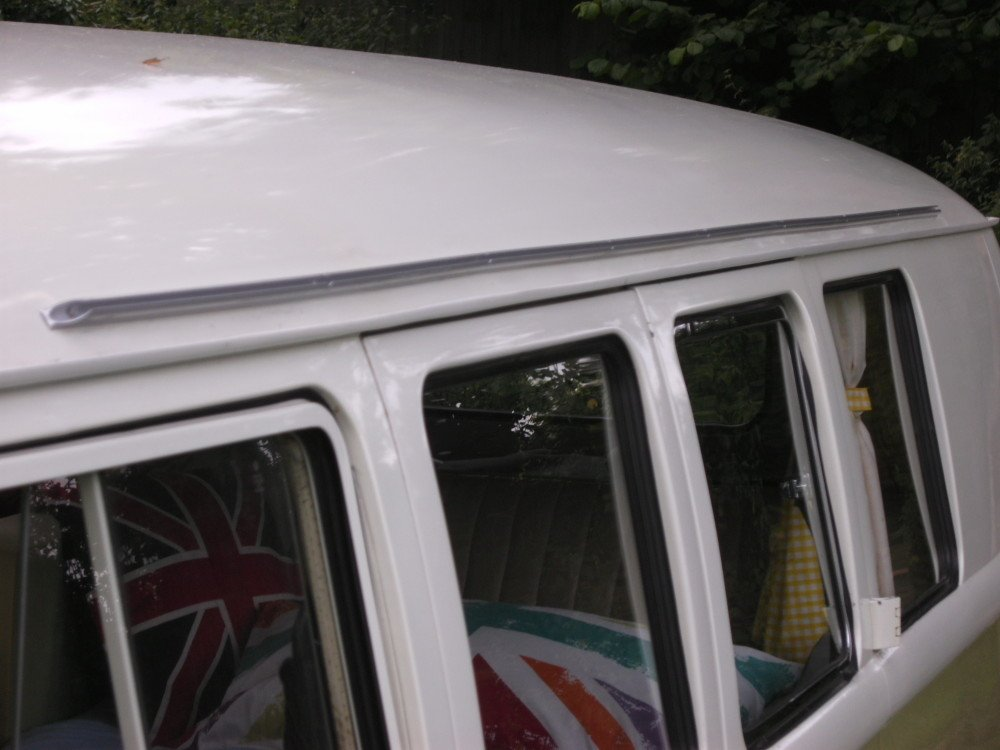 Awning Rail Channel Vw T1 Splitscreen Camper Essentials